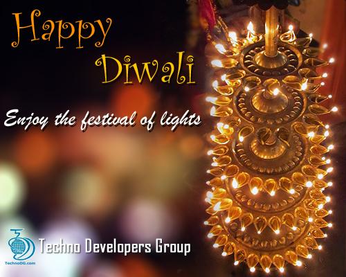 Happy Diwali 2011 from TechnoDG.com