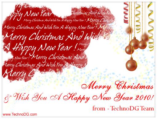 Merry Christmas & Happy New Year 2010